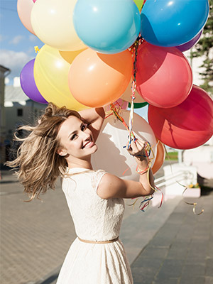 Balloons By Colours