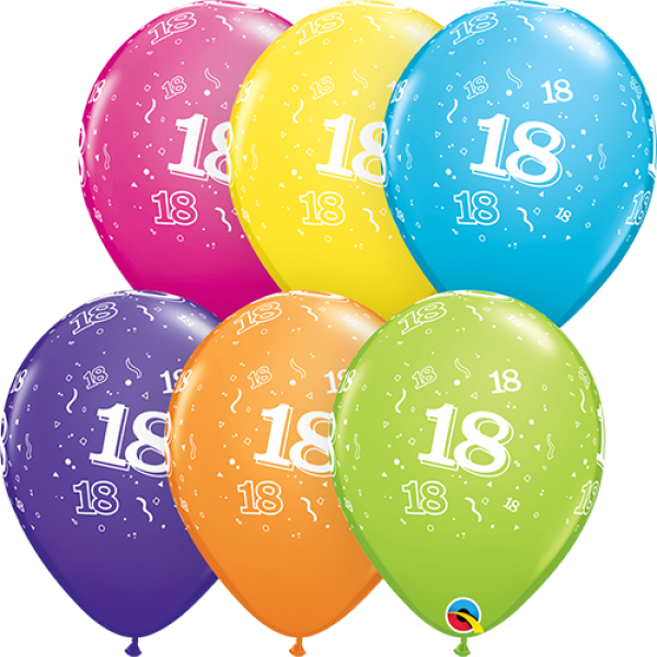 "11"" 18th Birthday Balloon"