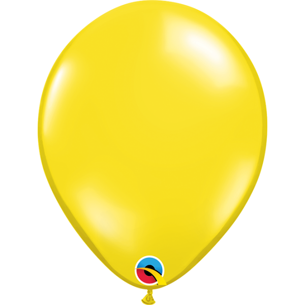"11"" Citrine Yellow Balloon"