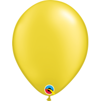 "11"" Pearl Citrine Yellow Balloon"