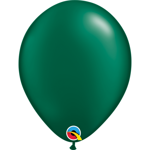 """11"""" Pearl Forest Green Balloon"""