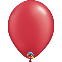 """11"""" Pearl Ruby Red Balloon"""