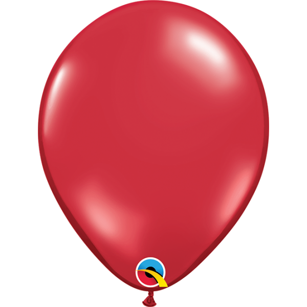 """11"""" Ruby Red Balloon"""