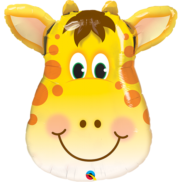 "32"" Super Shape Jolly Giraffe Balloon"