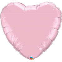 "36"" Pearl Pink Super Shape Heart Balloon"
