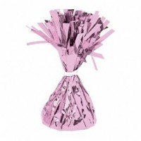 Pink Fringed Foil Balloon Weight 6oz